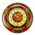 Часы Весна (клубничка)